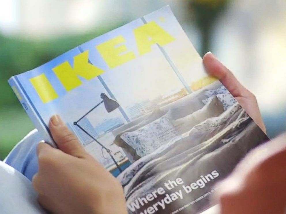 Ikea catalogue ad spoofs Apple
