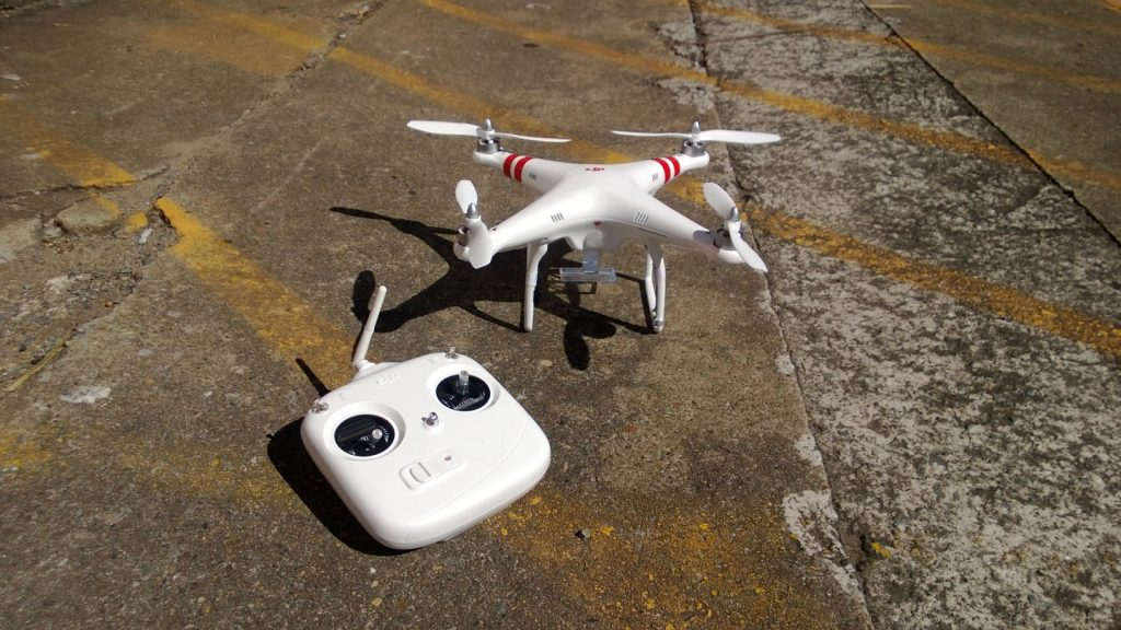 Using drones to make your advertising unique