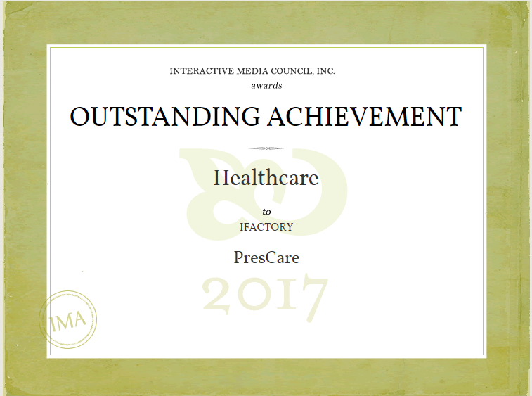 Outstanding Achievement on March 7, 2017,