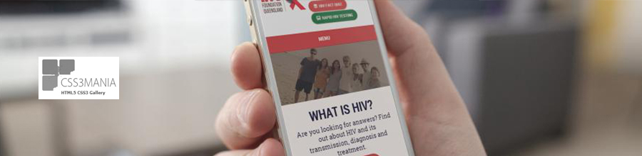 Best website design for HIV awareness website